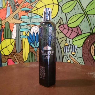 Lake Barzetek Single Estate Rye Belvedere vodka radici pavia