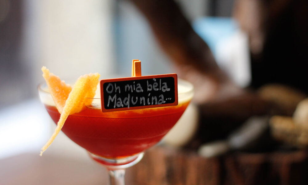 Radici Pavia cocktail